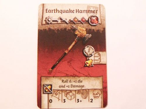 wulfsburg survivor equipment card (earthquake hammer)